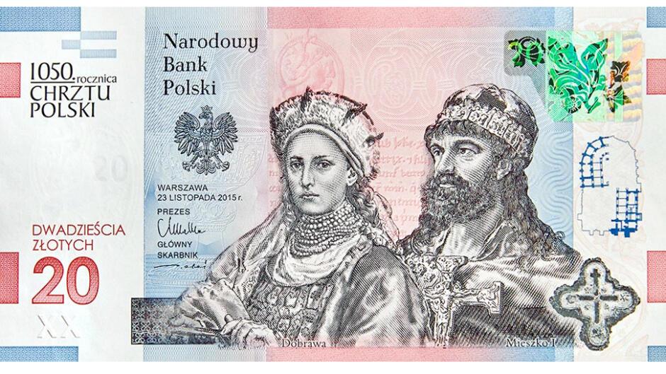 20 zł 1050 Chrzsztu Polski