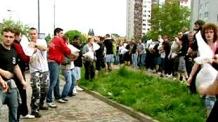 Wrocławianie uczą się bronić przed powodzią