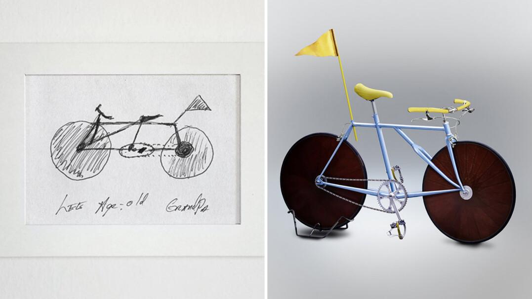 Człowiek, który stworzy rower z Twojej wyobraźni