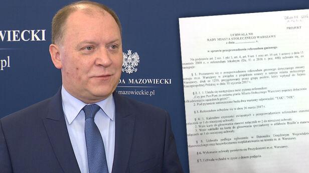 Zdzisław Sipiera, wojewoda mazowiecki TVN24