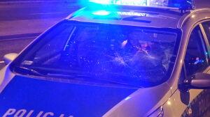 Obrażali policjantów, zniszczyli radiowóz. Dwie osoby zatrzymane