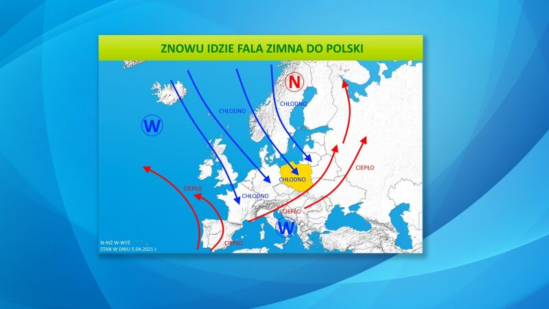 Znowu idzie fala zimna do Polski