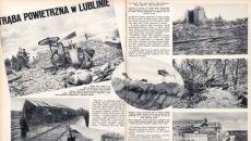 """Trąba powietrzna w Lublinie. Artykuł w gazecie """"Światowid"""" z 1.08.1931 r."""