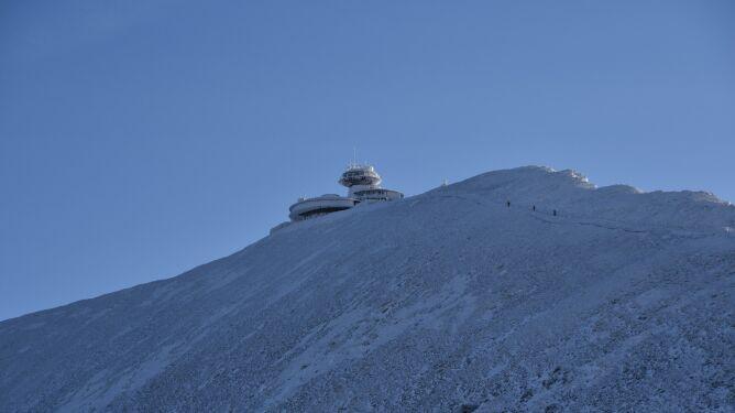 Śnieżka i Kasprowy Wierch z rekordami ciepła