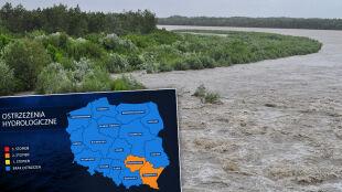 Czerwone alerty w Małopolsce i na Śląsku. Przekroczenie stanów alarmowych