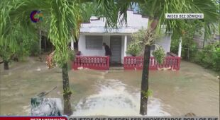 Powodzie błyskawiczne na Kubie